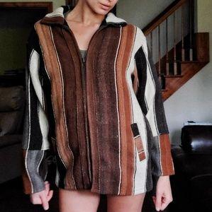 ✌FINAL!!✌Vintage Wool Patchwork Jacket
